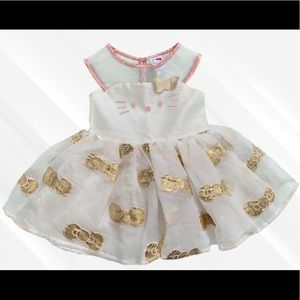 NWOT Hello Kitty Party Dress 2T